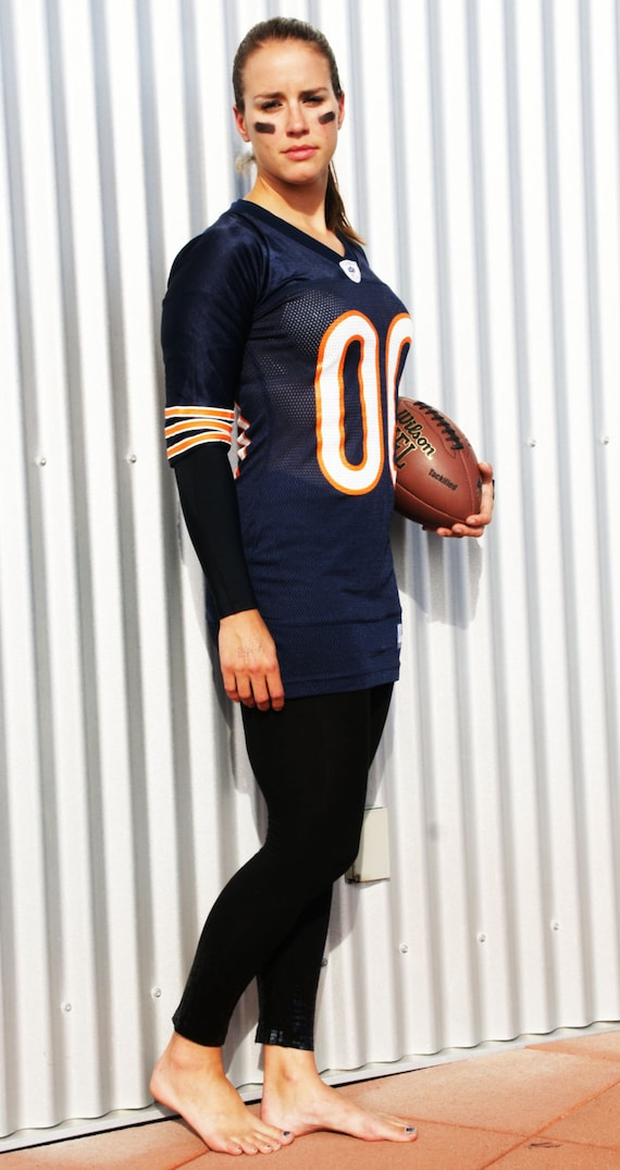 62f2647a8 how to wear a jersey youtube  items similar to short sleeved cfl or nfl jersey  dress on etsy