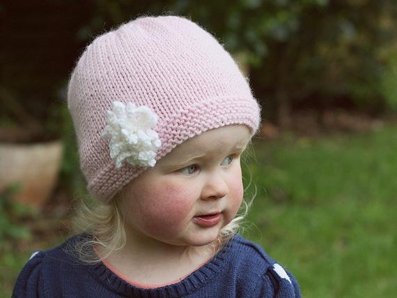 Baby Hat Pattern Pdf Knitting Pattern Baby Girl Hat Pattern