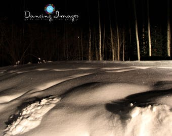 Snowy White Blanket