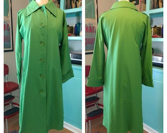 Bright Green Rain Coat Raincheetahs by NAMAN of New York