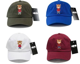 Kanye West Graduation Bear Dad Hat Embroidered