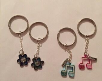 Best Friend Keychains!
