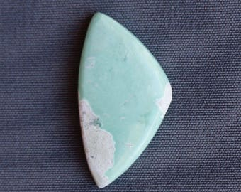 Cabochon en pierre variscite
