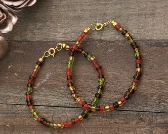 Fire Inspired Dainty Bracelet for Women Jewelry Gifts