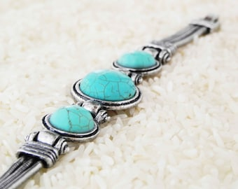 SUMMER NIGHTS BRACELET unique southwestern turquoise jewelry bohemian gypsy collection