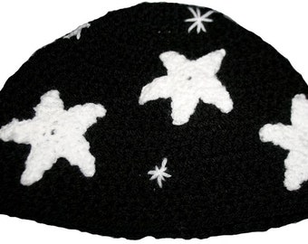 Hand Crocheted Stars Hat  HH204