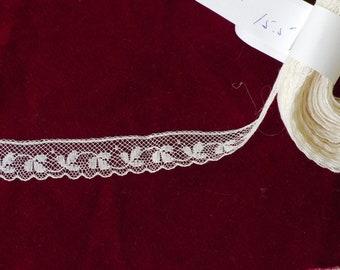 Vintage Fine 3/4 Inch Lace