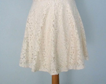 Lace Skirt, Mini Skirt, Summer Clothing, Short Skirt, Sweet Lolita, Women's Lace Skirt, Womens Lace Skirt, Lace Mini Skirt, Off White Skirt