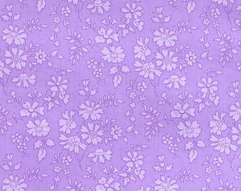 Liberty fabric Tana Lawn Capel- 5''x10'' piece Lilac- Classic Collection