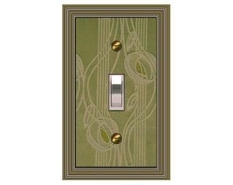 1118e-t1 OR 1118f - Choose One Only - Olive or Brown Mackintosh - mrs butler switch plate covers -
