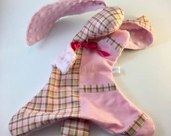 Plush Bunny - Plaid