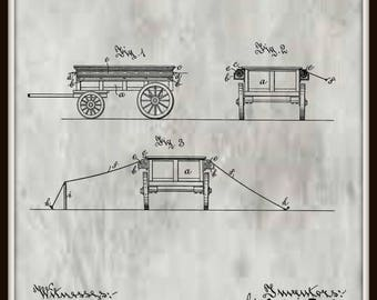 Combination Wagon and Tent Patent #667475 dated Feb. 5, 1901. Transportation patents, Transportation art, Tansportation decor