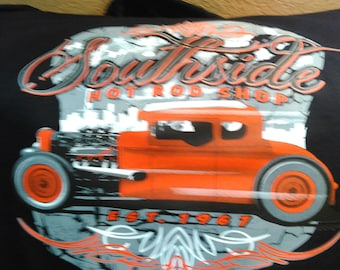 SOUTH SIDE Hot Rod Shop T-shirt