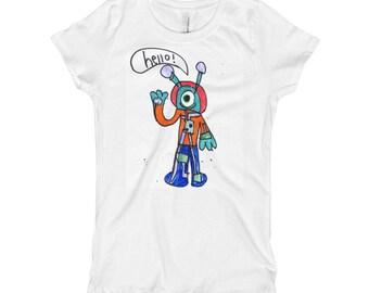 Alien T-Shirt for Kids