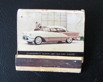 1956 Oldsmobile Match Book