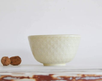 Aluminia / Royal Copenhagen by Nils Thorsson - Bowl from MARSELIS serie. Danish mid century pottery