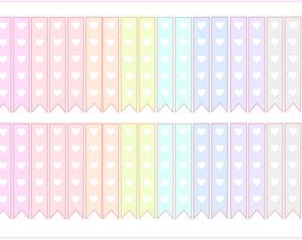 Spring Multicolor- Checklist Flags