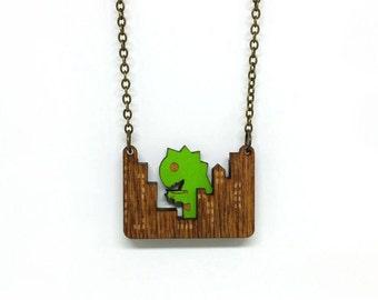 Little Monster Necklace