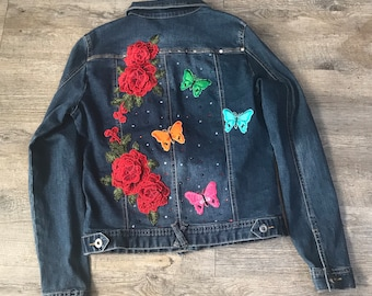 Flowers and Butterflies Jacket
