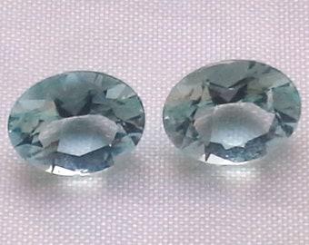 pair of aquamarines