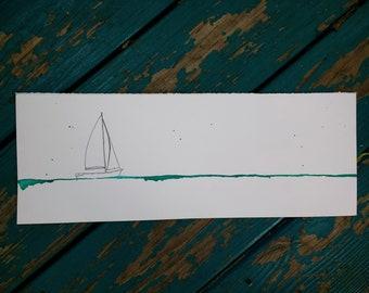 May Waters sailboat original