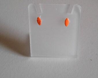Oval egg shaped earrings plastic,wholesale earring lot jewelry