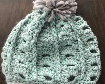 Ladies Slouchy Crochet Beanie