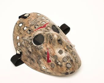 Friday the 13th: Part 12 Inspired Hockey Mask (Jason Voorhees)