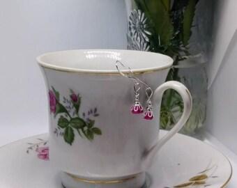 Beautiful, dainty flower earrings