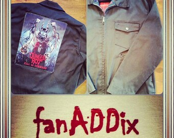 Mens Jungle Rot Vintage Workwear Jacket
