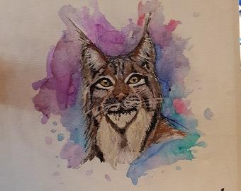 Lynx heureux