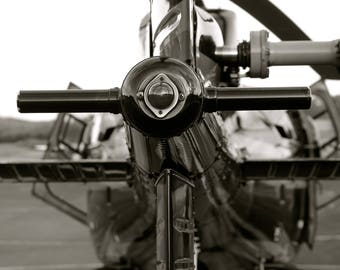 Astar 350BA Helicopter Rear Abstract
