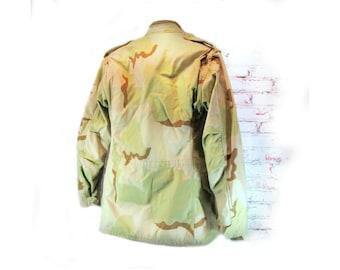 Camouflage jacket,Military jacket, desert camouflage jacket,U.S. Air Force jacket, Size small Long  # 60