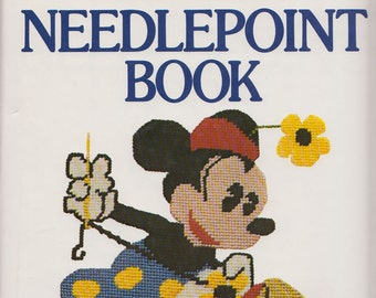 Walt Disney Characters Needlepoint Book 1st Edition Mickey Mouse Donald Duck