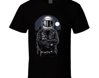 Astronaut Moon Mars T-shirt