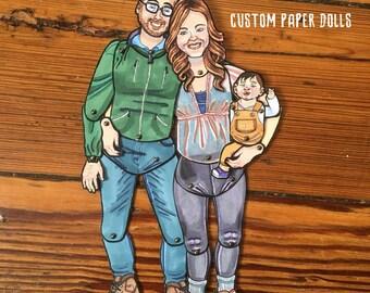 Custom Paper Doll