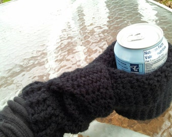 Can Cozy Mitt,  Just the Cozi Mitt,  Custom made to order.  Good for left or right handed.