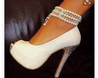 Wedding Shoes~ White Shoes~ Party Shoes
