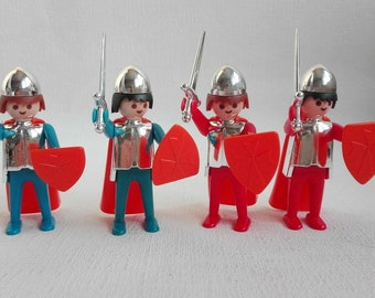 Vintage Playmobil 1976, Knights, Geobra, First Generation Playmobil
