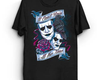 It Can't Rain All The Time - The Crow T-Shirt | Tattoo Shirt | Eric Draven Tee