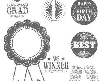 Blue Ribbon (Clear) - Stampin Up