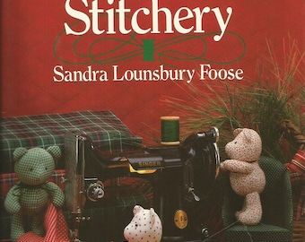 Vintage Scrap Saver's Christmas Stitchery by Sandra Lounsbury Foose