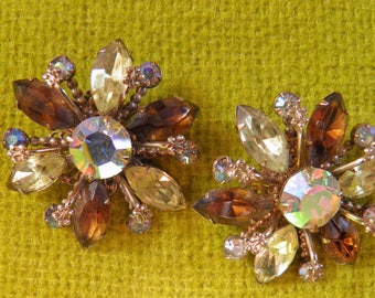 Large Juliana Clip Earrings, Delizza & Elster.
