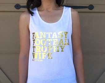 Gold Foil Fantasy Football Tank
