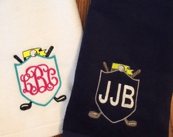 Personalized Golf or Tennis Towel