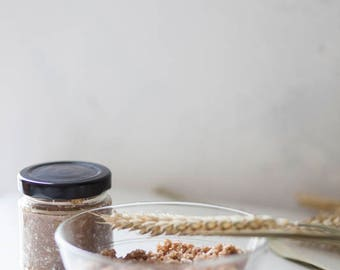 Coconut Body Scrub • Homemade Body Scrub • Coconut Sugar Scrub • All Natural Body Scrub • Sugar Scrub • Homemade Body Scrub