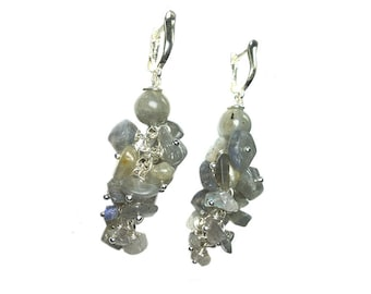 Earrings Labradorite 392 exclusive