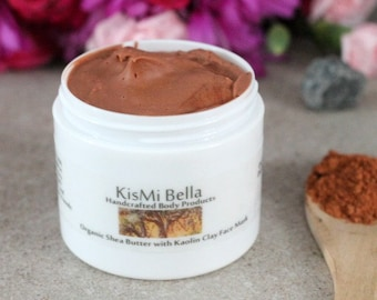 Acne Mask, Face Wash, Face Toner, Wrinkle Cream, Anti Aging Mask, Kaolin Clay Face Mask with Organic Shea Butter