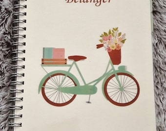 Printed Personalized Home Management Planner Notebook