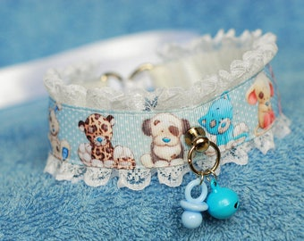 Your Favorite Stuffie, vol. II - collar for pet play, age play, bdsm, ddlg, abdl, kitten play, lolitai